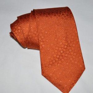 SALVATORE FERRAGAMO Gancini Pattern  Mens Silk Tie